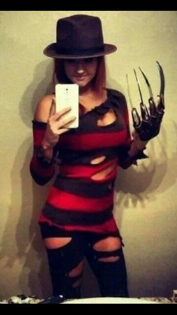 Women's Freddy Krueger