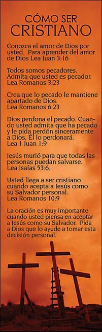 Separadores de páginas, Cómo Ser Cristiano, Paquete de 25
