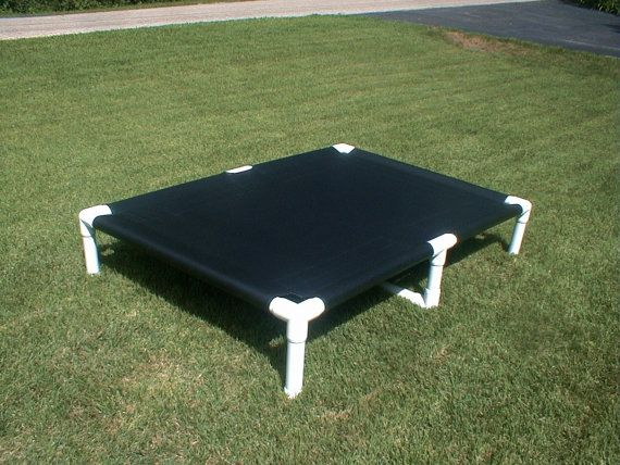 Dog Bed Extra Large Great Dane PVC Dog Cot by DianesK9Creations