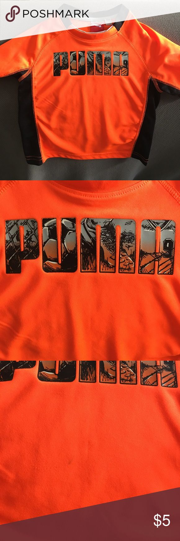 Soccer Puma Shirt Soccer Puma Shirt. Small stain on front. Puma Shirts & Tops Tees - Short Sleeve