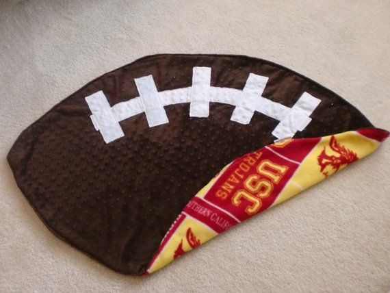 USC Trojans Football Baby Blanket  super soft by C3MKcreations, $38.00