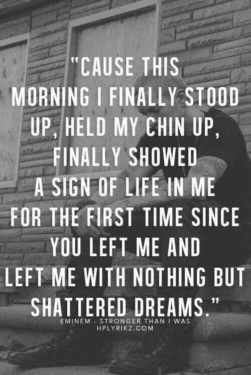 Slim shady stand up lyrics