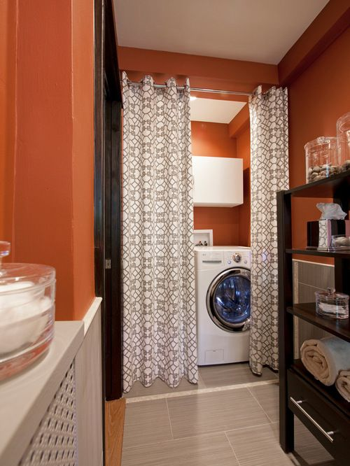 Curtains Curtains Curtains For Laundry Room Designs Laundry Room Curtain Curtains For Laundry Roo Orange Laundry Rooms Tiny Laundry Rooms Laundry Room Curtains