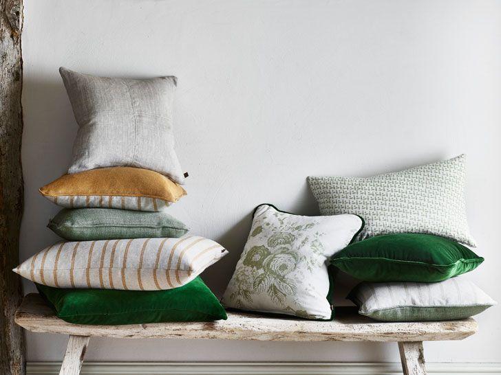 Восхитительные оттенки зеленого в новой коллекции Neptune   Пуфик - блог о дизайне интерьера