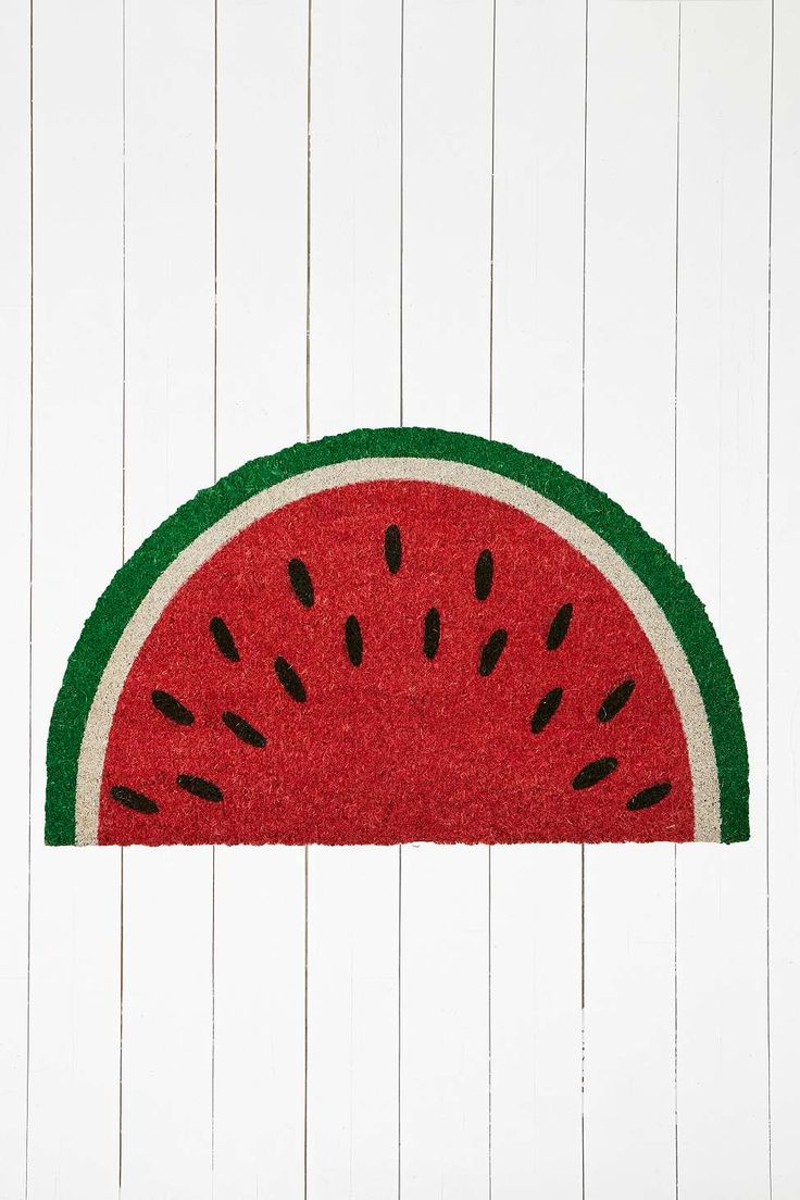 Watermelon Door Mat - Urban Outfitters