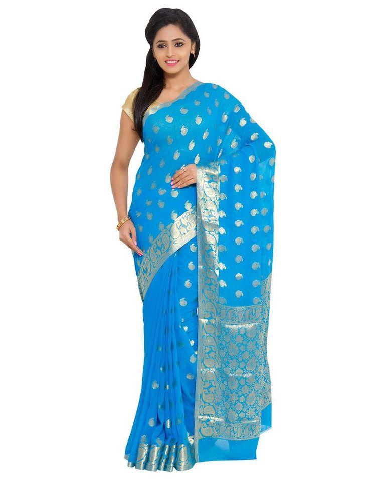 The Chennai Silks - Georgette Saree - Sky Blue(CCSW-117): Amazon : Clothing & Accessories  http://www.amazon.in/s/ref=as_li_ss_tl?_encoding=UTF8&camp=3626&creative=24822&fst=as%3Aoff&keywords=The%20Chennai%20Silks&linkCode=ur2&qid=1448871788&rh=n%3A1571271031%2Cn%3A1968256031%2Ck%3AThe%20Chennai%20Silks&rnid=1571272031&tag=onlishopind05-21