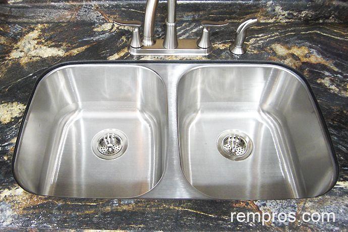 Doppelte Schüssel Edelstahl Spüle Unterbau - Küchenmöbel