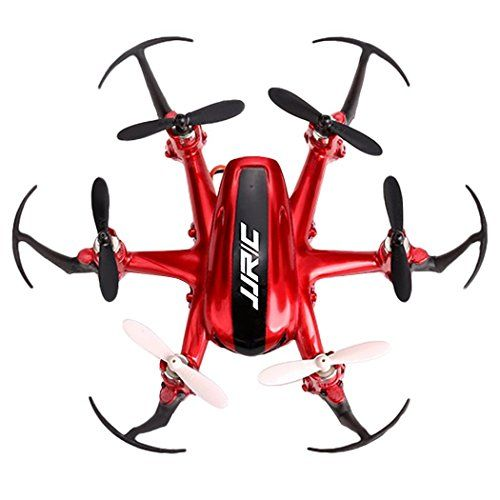 IFSO-JJRC H20 2.4G 4CH 6-Axis Gyro Nano Helicopter RTF Quadcopter Drone(H20 Red) With Ifso Special gift * Want additional info? Click on the image.