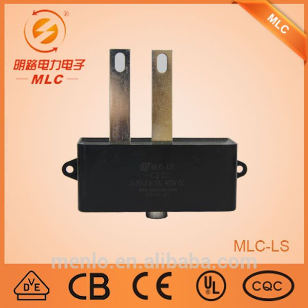 Good quality oil filled capacitors run capacitor for ac unit MLC-LS (2*30/400)