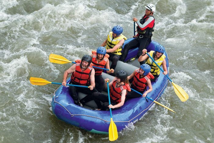 """1. <a href=""""http://www.onlyinyourstate.com/oklahoma/whitewater-rafting-ok/"""" target=""""_blank"""">Riversport Rapids</a> (Oklahoma City)"""