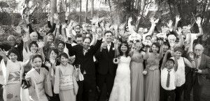 Wedding Photography. We just love this group shot!