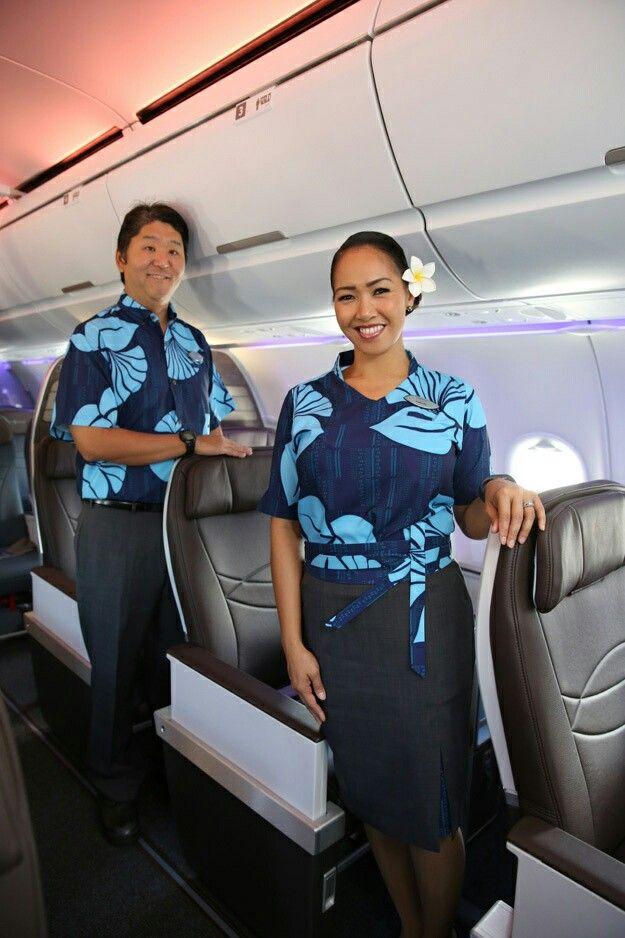 Pin By Angel Estrada On Flight Attendant Hawaiian Airlines