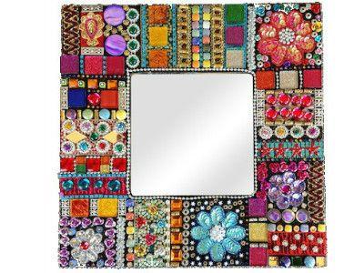 Tapestry Mirror Mosaic Kit - 29.5 x 29.5 cm                              …