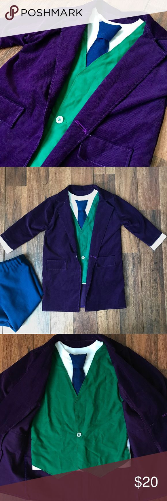 The 25 best joker costume ideas on pinterest costume joker kids joker costume kids handmade joker costume so cute and very unique my son solutioingenieria Choice Image