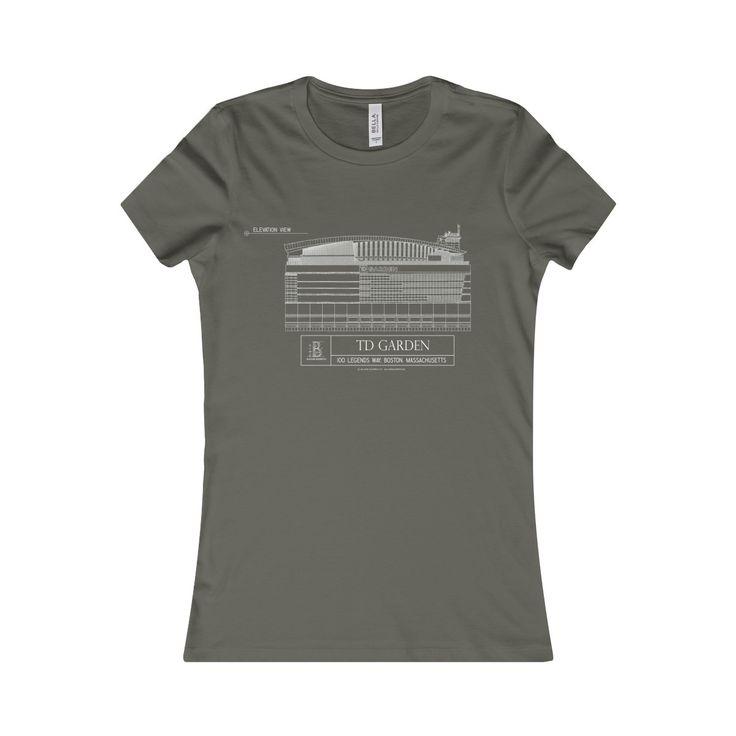 TD Garden Women's Favorite Short-Sleeve Tee