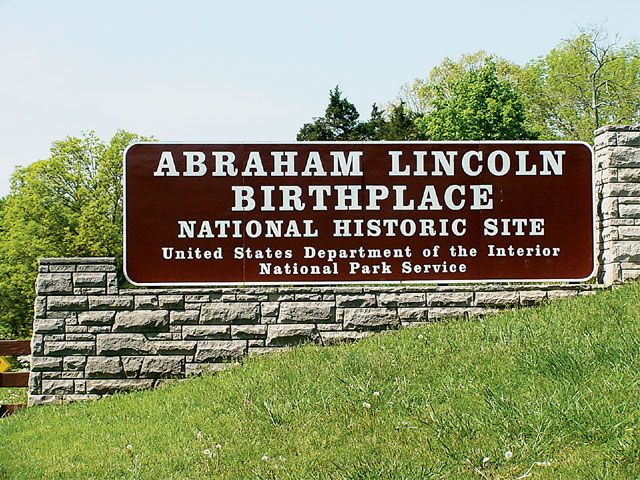 Abraham Lincoln's Birthplace, Mammoth Cave National Park, Hodgenville, Kentucky