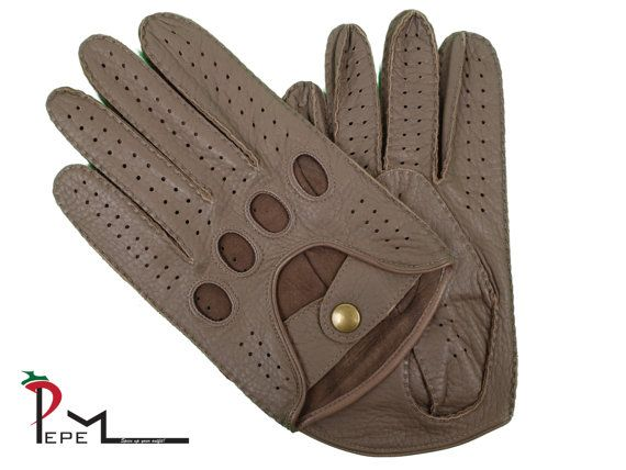 CLOSEOUT  Men's deerskin unlined driving gloves  611 by PEPEMODA