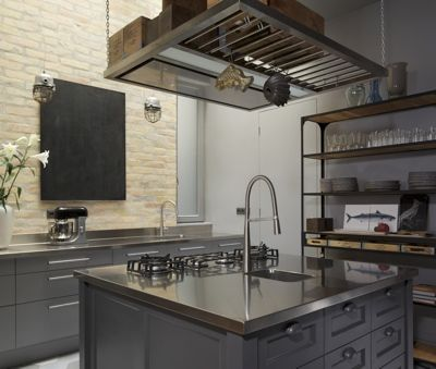 Krudy Luxury Apartment Budapest - Kitchen Island, fully equipped kitchen - a safe's dream :)
