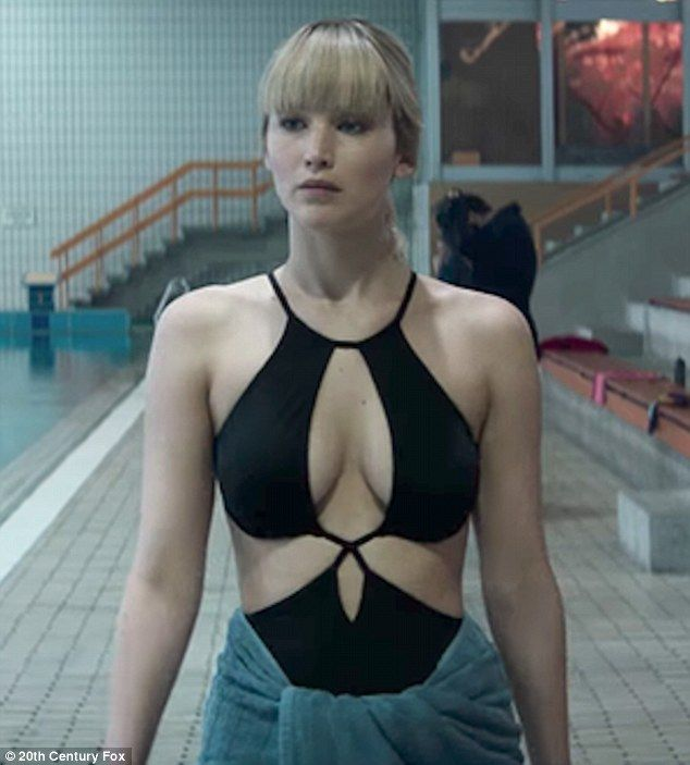 "Challenging: 'I've been afraid of that since 2014, when I got my pictures hacked. I just thought, ""I'll never do that again.' And then when I said yes to Red Sparrow, I felt I was taking something back,' she said. In the film she uses her mind and body to work at a a secret intelligence service"