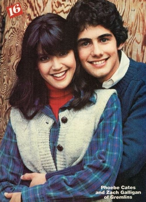 Phoebe Cates and Zach Galligan - Gremlins
