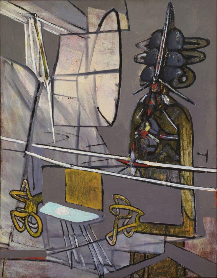 'My Blind' (1946-47) by Roberto Matta