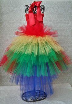 Parrot Tutu Costume Dress by GigglesandWiggles1 on Etsy