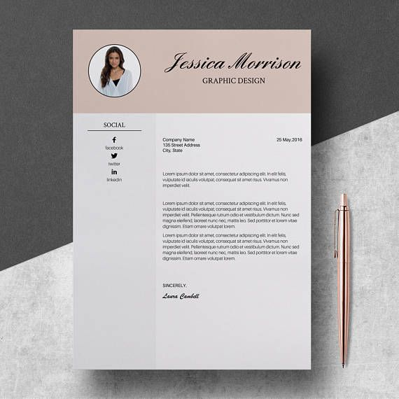 Professional Resume Template - Professional CV Template Word - Creative Resume Design - Resume Cover Letter Template - Instant Download Our templates will serve You to present Your skills, achievements and experience in order to shape You skills on the new position and get Your dream job.