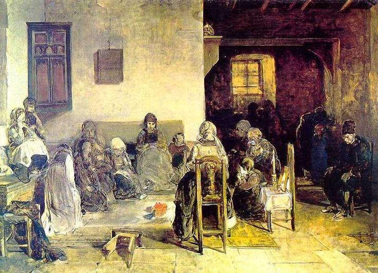 Nikiforos Lytras Mourning at Psara. 1888