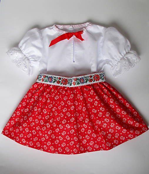40e89257cc55 Folková súpravička pre dievčatko veľkosť 68-98   Tanja.L