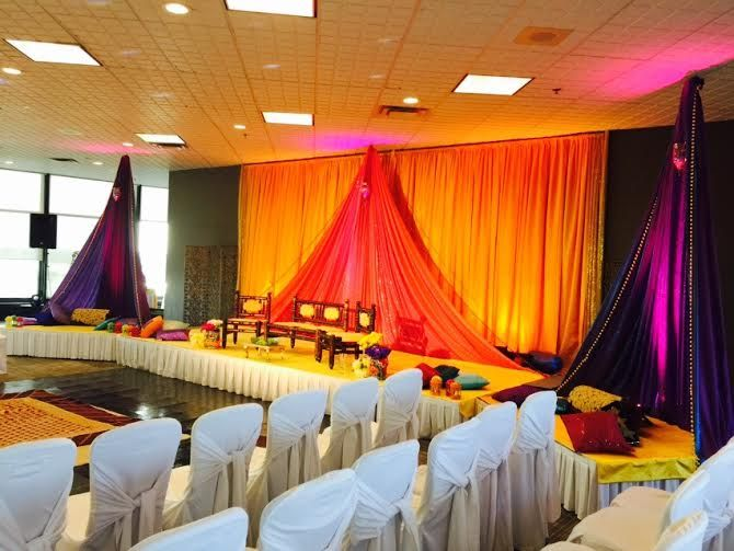 31 best 3d wedding stages images on pinterest wedding stage mehndi event with full room decor and canopy corners at delta city center ottawa penthouse junglespirit Images