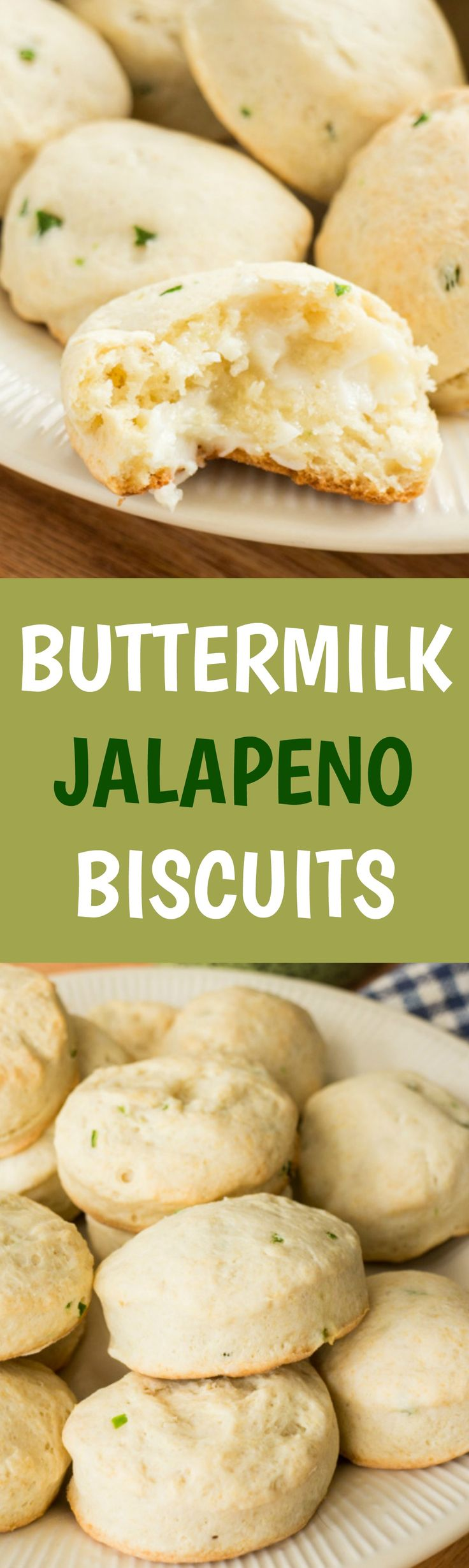 Step by step pictures on how to make the most Delicious Buttermilk Jalapeno Biscuits! These would be great for Thanksgiving dinner to serve!