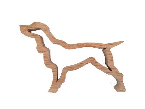 Springer Dog Springer Spaniel Oak Handmade Ornament