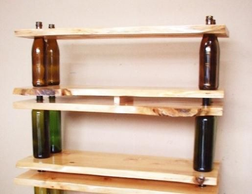 Do it yourself shelves ideas diy shelving shelving - What did the wall say to the bookcase ...