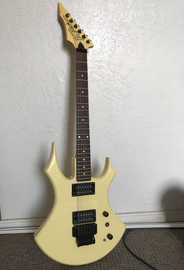 Bc Rich Virgin Bc Rich Guitars Guitar Music Production Equipment
