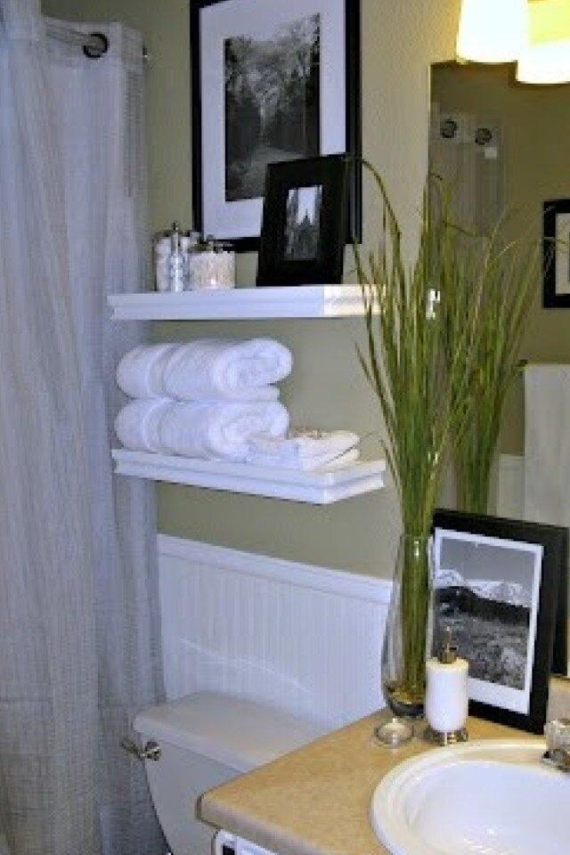 Floating Shelves In Bathroom Diy Crafts Pinterest Design Tutorials And Sinks
