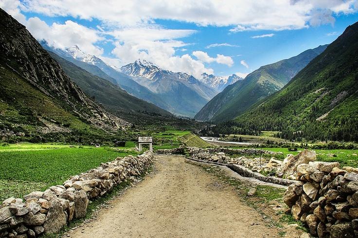 Sangla Valley, Kinnaur, Himachal Pradesh, India.