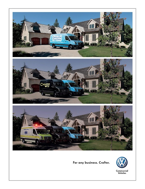 For any business (Campaign) : Volkswagen Crafter