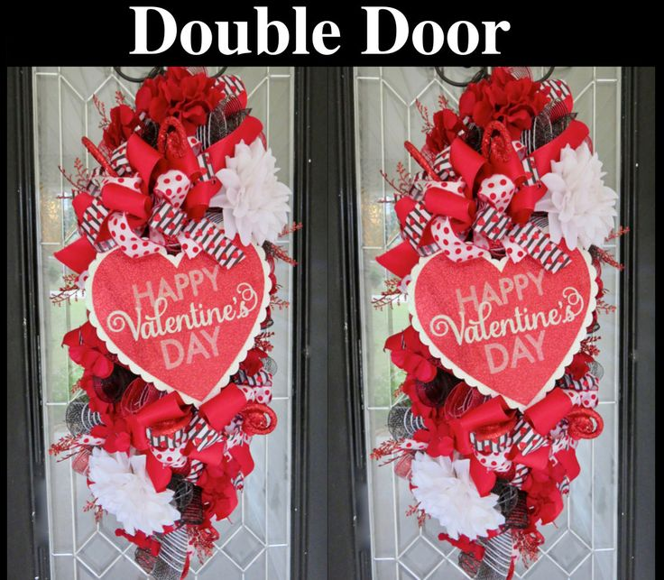 11 best Valentine\'s Day 2017 images on Pinterest | Deco mesh ...
