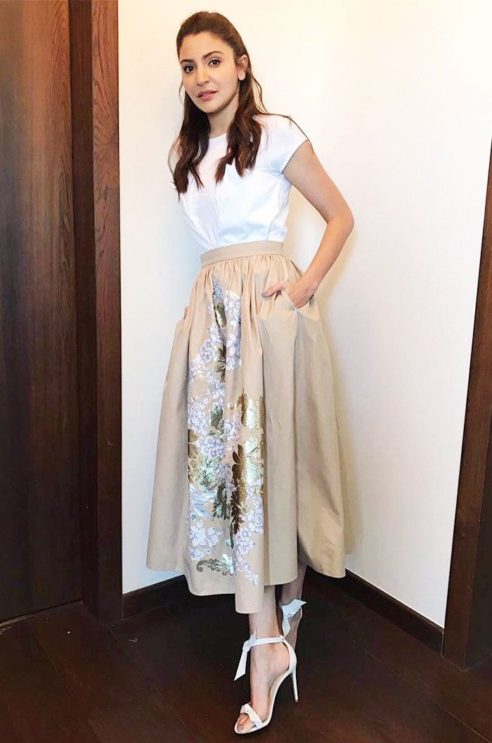 This Bollywood Star Wears Zara in the Coolest Way via @WhoWhatWear