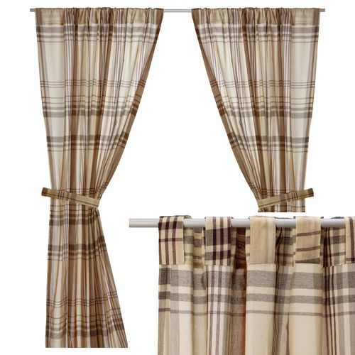 6766f206c0c79fde780e100c407042d9  plaid curtains semi