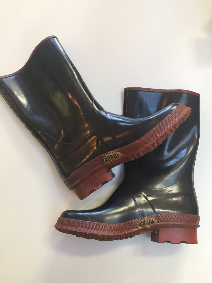 A personal favorite from my Etsy shop https://www.etsy.com/ca/listing/548066616/vintage-70s-rubber-boots
