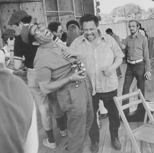 Dizzy Gillespie and Charles Mingus, 1971.