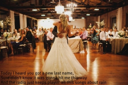 """""""Songs About Rain"""" - Gary AllanWedding Dressses, Dance Poses, First Dance, Dance Floors, Songs, Ballrooms, Fathers Daughters Dance, The Dresses, The Brides"""