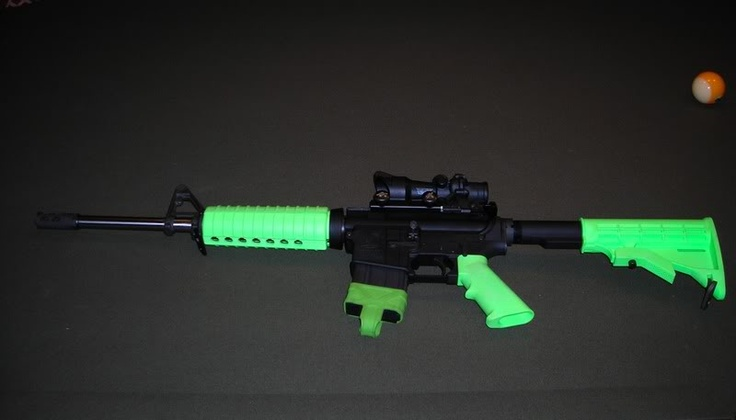 Furniture Kits Are Now Available For The AR 15 Semi Automatic In Just About  Any Color. Iu0027m Building Mine In Electric Green. I Cau2026 | Pinteresu2026