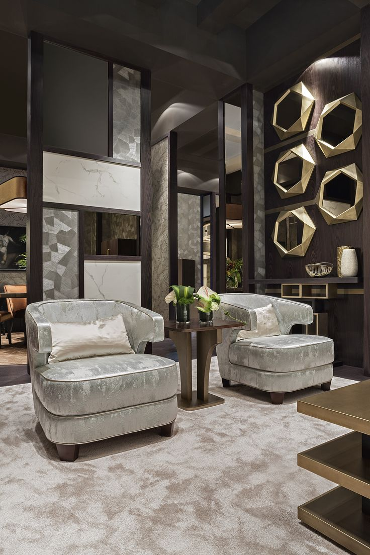 Joelle armchairs by Oasis Home Collection, design by Massimiliano Raggi.