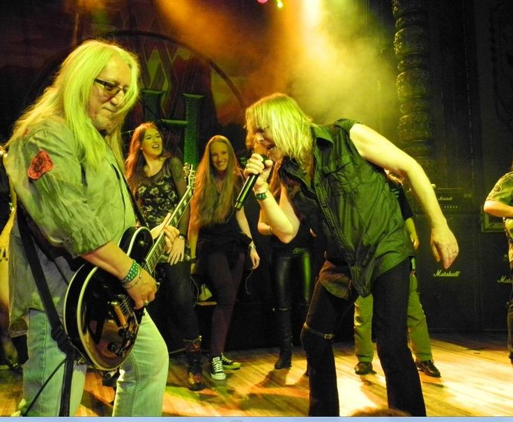 Uriah Heep - Bernie Shaw, Ylja Wuijts & Mick Box