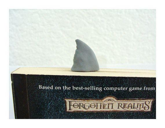 Great White Shark Book Mark - humorous