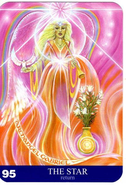 95 - L'étoile (retour) - New Aura Soma Tarot