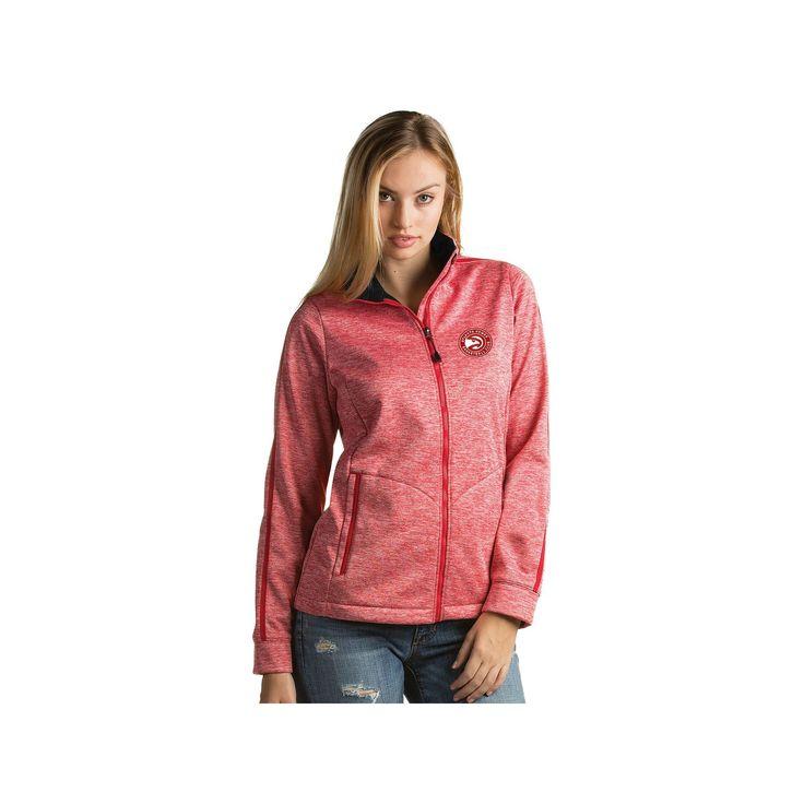 Women's Antigua Atlanta Hawks Golf Jacket, Size: Medium, Dark Red