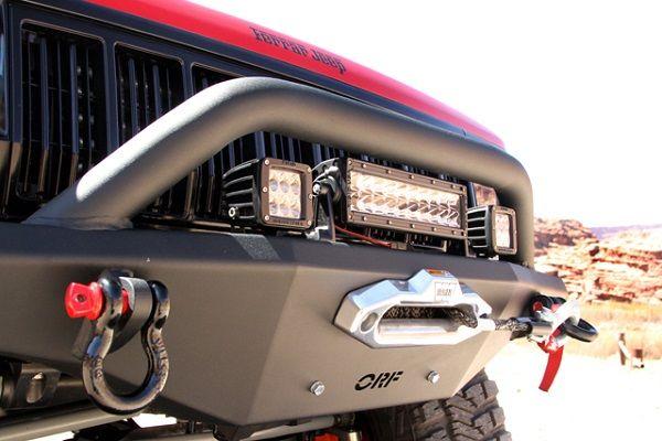 jeep cherokee winch bumper